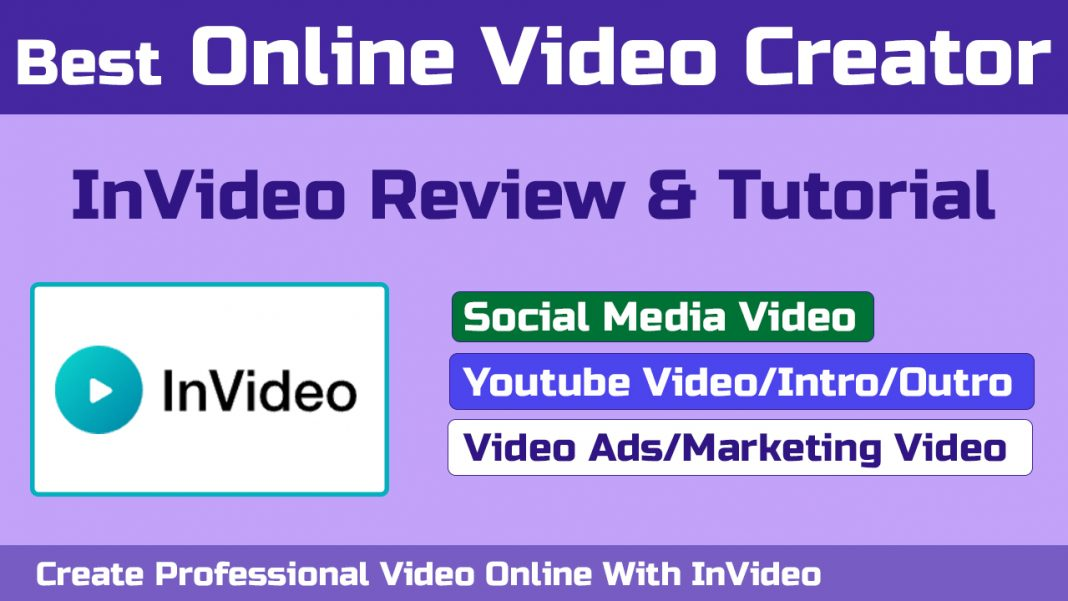 Create Professional Video Online With InVideo | Best Online Video Creator | InVideo Review [Hindi]